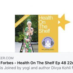 Live interview with Divya Kohli Emma Forbes Wellbeing Radio
